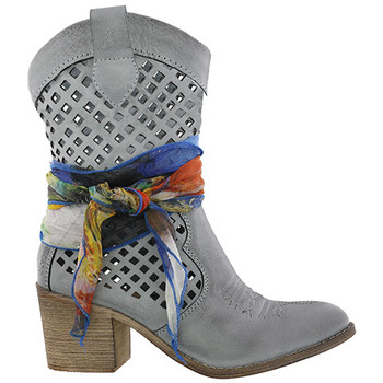 Zapatos Mujer Botas de caña baja Chika 10 LILY 06 Celeste/Skye blue