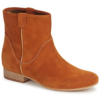 Zapatos Mujer Botas de caña baja Vic MUI Rojizo