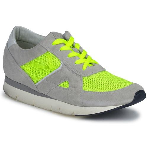 Zapatos Mujer Zapatillas bajas OXS GEORDIE Gris / Amarillo