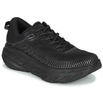Zapatos Hombre Zapatillas bajas Hoka one one BONDI 7 Negro