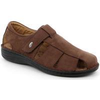 Zapatos Hombre Sandalias Grunland DSG-SE0018 MARRONE