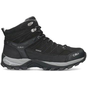 Zapatos Hombre Senderismo Cmp Rigel Mid Negros