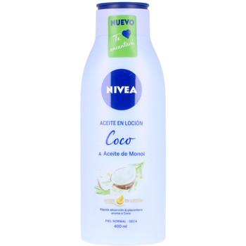 Belleza Hidratantes & nutritivos Nivea Aceite En Locion Coco & Aceite De Monoi  400 ml