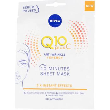 Belleza Mujer Mascarillas & exfoliantes Nivea Q10+ Vitamina C Anti-arrugas+energizante Mascarilla Facial 1 u