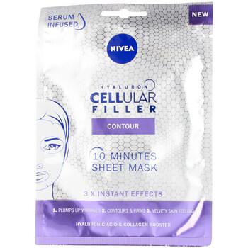 Belleza Mujer Mascarillas & exfoliantes Nivea Hyaluron Cellular Filler Contour Mascarilla Facial 1 u