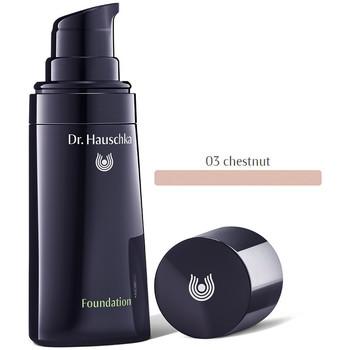 Belleza Mujer Base de maquillaje Dr. Hauschka Foundation 03-chestnut   30 ml
