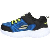 Zapatos Niño Zapatillas bajas Skechers - Ultravolt blu/giallo 97546N BLBK BLU