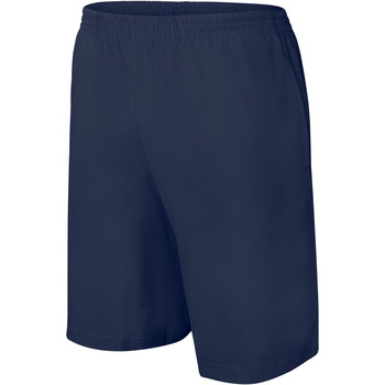textil Niños Shorts / Bermudas Proact Short enfant Jersey  Sport bleu marine