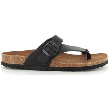 Zapatos Mujer Sandalias Interbios 7119 negro Noir