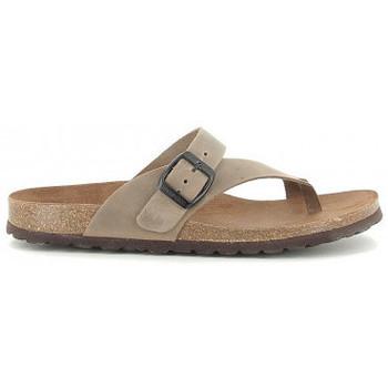 Zapatos Mujer Sandalias Interbios 7119 taupe Beige