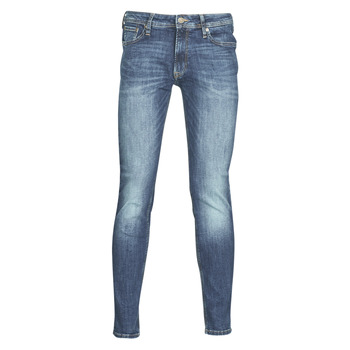 textil Hombre vaqueros slim Jack & Jones JJILIAM Azul / Medium