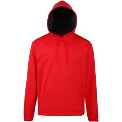 textil Niños Sudaderas Rhino RH70B Rojo/Negro