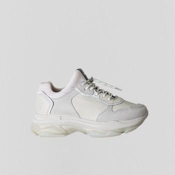 Zapatos Mujer Zapatillas bajas Bronx Chaussures femme  Baisley Suede blanc cassé