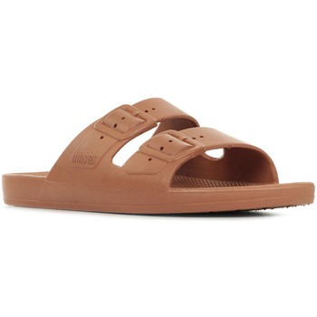 Zapatos Mujer Zuecos (Mules) Moses Freedom Slippers Marrón