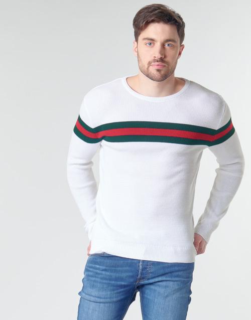 textil Hombre Jerséis Yurban MIRANDA Blanco