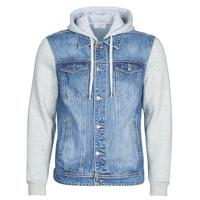 textil Hombre chaquetas denim Casual Attitude LAURYNE Azul / Medium