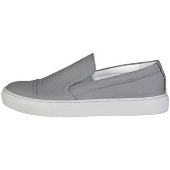 Zapatos Hombre Slip on Made In Italia - lamberto Gris
