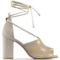 Zapatos Mujer Sandalias Made In Italia - simona Marrón