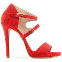 Zapatos Mujer Sandalias Made In Italia - iride Rojo