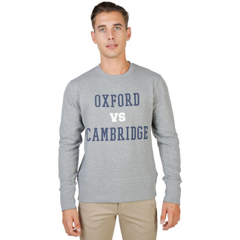 textil Hombre sudaderas Oxford University - oxford-fleece-crewneck Gris
