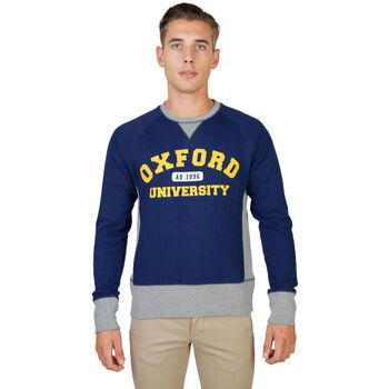 textil Hombre sudaderas Oxford University - oxford-fleece-raglan Azul