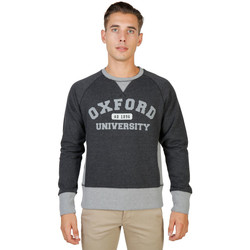 textil Hombre Sudaderas Oxford University - oxford-fleece-raglan Gris