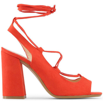 Zapatos Mujer Sandalias Made In Italia - linda Rojo