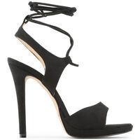 Zapatos Mujer Sandalias Made In Italia - erica Negro