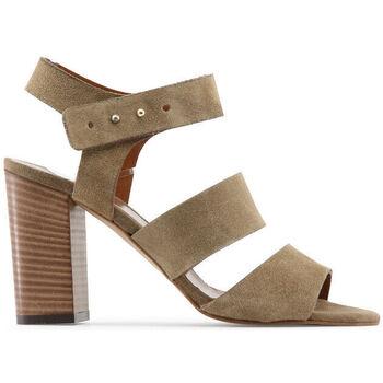Zapatos Mujer Sandalias Made In Italia - teresa Marrón