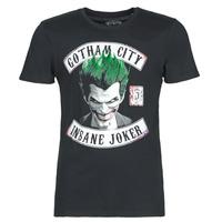 textil Hombre camisetas manga corta Casual Attitude INSANE JOKER Negro