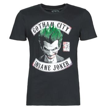 textil Hombre Camisetas manga corta Yurban INSANE JOKER Negro