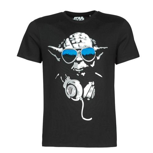textil Hombre Camisetas manga corta Yurban DJ YODA COOL Negro