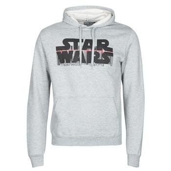 textil Hombre Sudaderas Yurban Star Wars Bar Code Gris