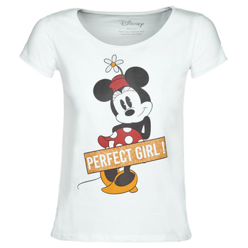 textil Mujer camisetas manga corta Moony Mood MINNIE PERFECT GIRL Blanco