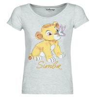 textil Mujer camisetas manga corta Moony Mood THE LION KING Gris