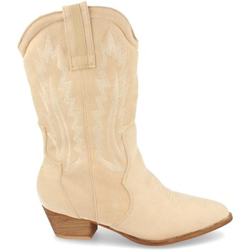 Zapatos Mujer Botas urbanas H&d 392 Beige