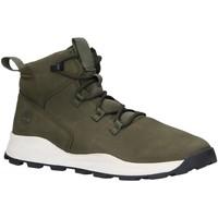 Zapatos Niños Botas de caña baja Timberland A287F BROOKLYN Verde