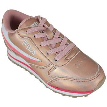 Zapatos Zapatillas bajas Fila orbit f low kids lotus Rosa