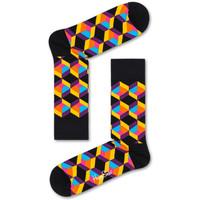 Accesorios textil Hombre Calcetines Happy Socks Optiq square sock Multicolor