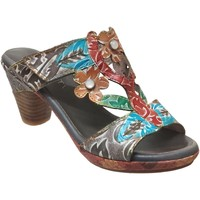 Zapatos Mujer Zuecos (Mules) Laura Vita Beclforto 13 Gris múltiple
