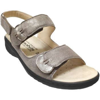 Zapatos Mujer Sandalias Mobils By Mephisto Getha Cuero metalizado gris pardo