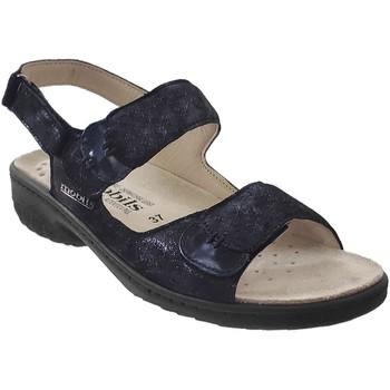 Zapatos Mujer Sandalias Mobils By Mephisto Getha Cuero azul marino