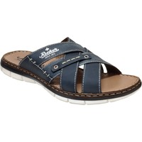 Zapatos Hombre Zuecos (Mules) Rieker 25199 marino
