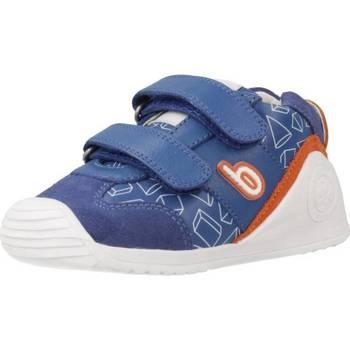 Zapatos Niño Zapatillas bajas Biomecanics SANDALIA SAUVAGE PRISMAS Azul