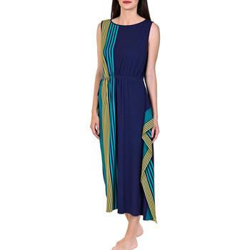 textil Mujer vestidos largos Lisca Vestido largo de verano Dominica azul Azul