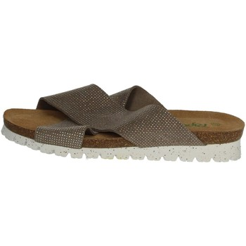 Zapatos Mujer Zuecos (Mules) Riposella C78 Marrón Taupe