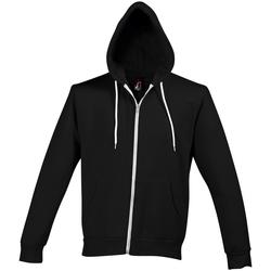textil Hombre chaquetas de deporte Sols SILVER KANGAROO SPORT Negro