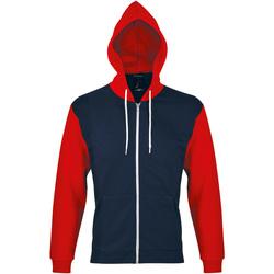 textil chaquetas de deporte Sols SILVER KANGAROO SPORT Rojo