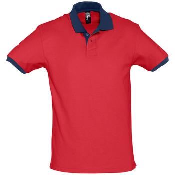 textil polos manga corta Sols PRINCE COLORS Rojo
