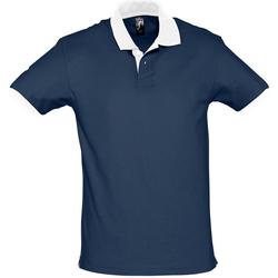 textil Polos manga corta Sols PRINCE COLORS Azul
